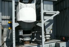 Dispositif EVERBAG de vidange de big-bag avec filtre de decompression