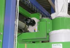 Ventilateur de gonflage des big bag sur station de remplissage big-bag