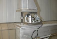 Capteur de pesage tout inox sous dispositif de vidange big-bag EVERBAG